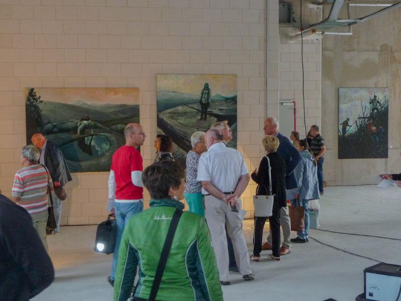 Herzstück der diesjähigen NdK: die kuratierte Ausstellung in der GSS 105-107.
